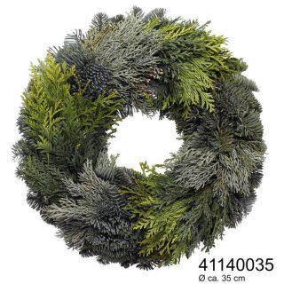 Zelené přírodní věnce