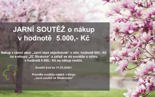 Jarní soutěž o nákup v hodnotě 5.000,- Kč